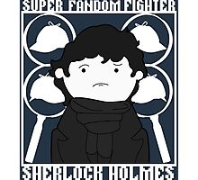 Super Fandom Fighter - Sherlock Photographic Print