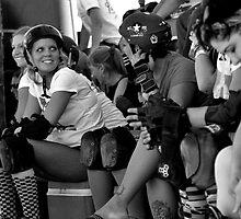 roller derby girls by motordriven
