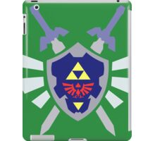 The hero of time, Link's shield iPad Case/Skin