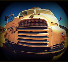 Old Bedford Truck by Jackie Barefield