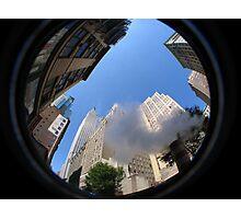 Empire State Smoky Fisheye Photographic Print