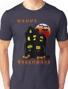 Happy Halloween Mansion  Unisex T-Shirt