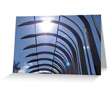 Empire State Railings Greeting Card