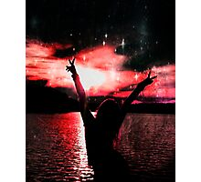 Sunset and Peace Photographic Print