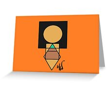 Pixel Princess of the Wind Greeting Card