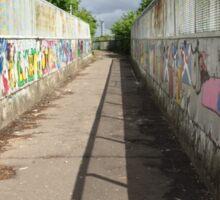 The Graffiti Crossing Sticker