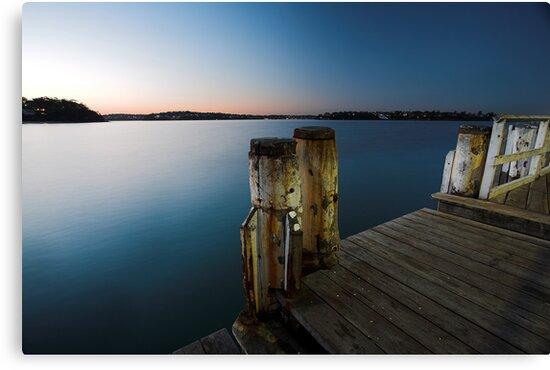 Dock of the Bay by David Haworth