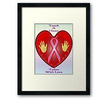 Breast Cancer Awareness (October Month) Framed Print