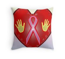 Breast Cancer Awareness (October Month) Throw Pillow