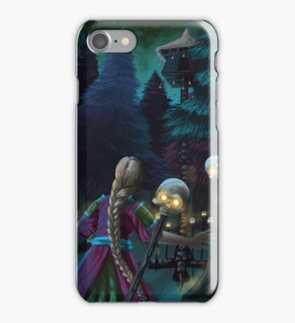 Baba Yaga and the Beautiful Vaseilisa iPhone Case/Skin