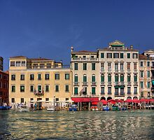 Across the Grand Canal by Tom Gomez