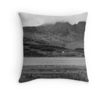 Loch Slapin and Bla Bheinn (Blaven) Throw Pillow