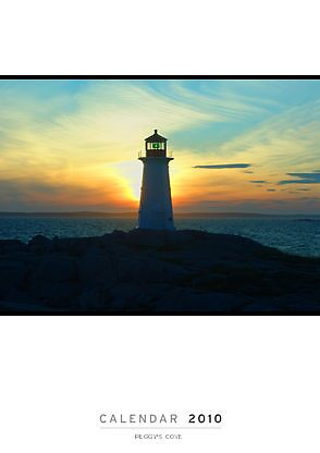 Peggy's Cove Calendar by George Cousins