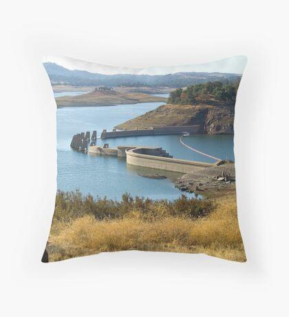 Valley Springs, California Dam Throw Pillow