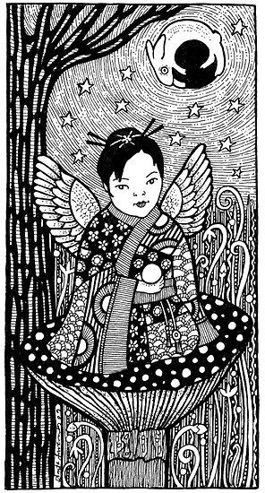 Chibi Fae by Anita Inverarity