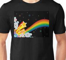 Rainbow In Space Unisex T-Shirt