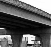 Overpass Under Construction Sticker