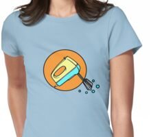 ELECTRIC MIXER machine Womens Fitted T-Shirt