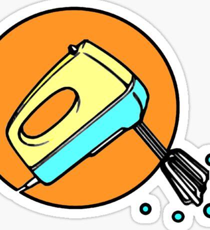 ELECTRIC MIXER machine Sticker