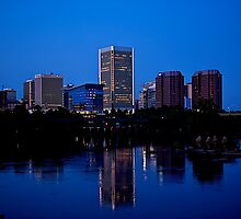 Richmond City Skyline by dmvphotos