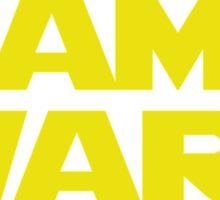 Game Wars Sticker