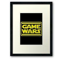 Game Wars Framed Print