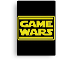 Game Wars Canvas Print