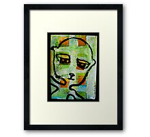 number 6 fearless guy Framed Print
