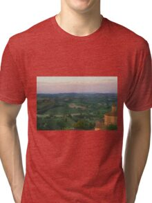 San Miniato, Italy Tri-blend T-Shirt