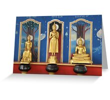 buddha images Greeting Card