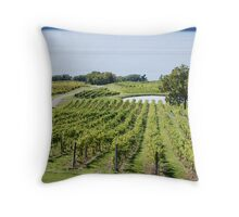 Lakeside Vines Throw Pillow
