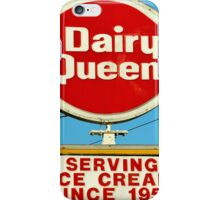 Diary Queen Sign iPhone Case/Skin
