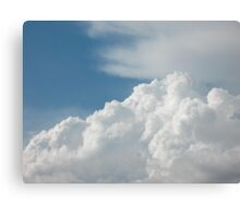 Irish Dancing Clouds Canvas Print