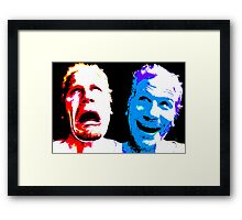 Argh and Hee Hee Framed Print