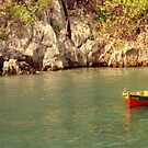 Labadee Lonely Boat by longaray2