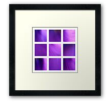 Purple Fantasy Framed Print