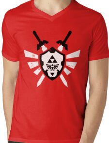 Link's Chaos - Legend of Zelda Mens V-Neck T-Shirt