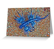 Glaucus Atlanticus Greeting Card