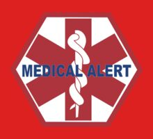 MEDICAL ALERT ID TAG  by SofiaYoushi