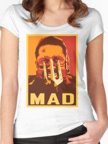 Max Rockatansky MAD (furycolor 2) Women's Fitted Scoop T-Shirt