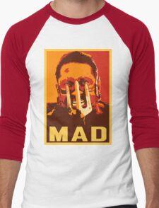 Max Rockatansky MAD (furycolor 2) Men's Baseball ¾ T-Shirt