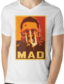 Max Rockatansky MAD (furycolor 2) Mens V-Neck T-Shirt