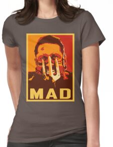 Max Rockatansky MAD (furycolor 2) Womens Fitted T-Shirt