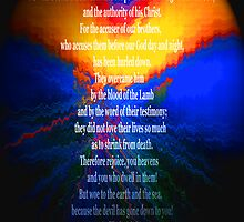 Revelation 12 - He Knows His Time Is Short by Ruth Palmer