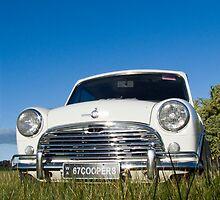 Mini Cooper S 1967 by Julia Harwood