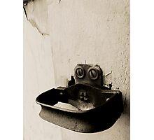 vintage door latch Photographic Print