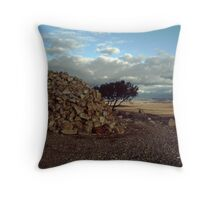 Explorers Cairn Throw Pillow