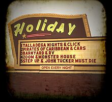 Holiday Drive-In by Hilary Walker