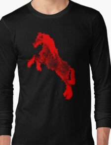 Horse of Scarlet Long Sleeve T-Shirt