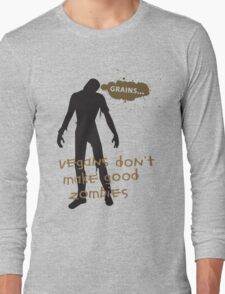 Vegan Zombies Long Sleeve T-Shirt